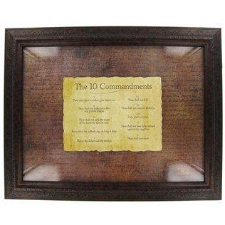 10 Commandments Framed Art Shop Hobby Lobby Art Craft Store Craft Stores 10 Commandments