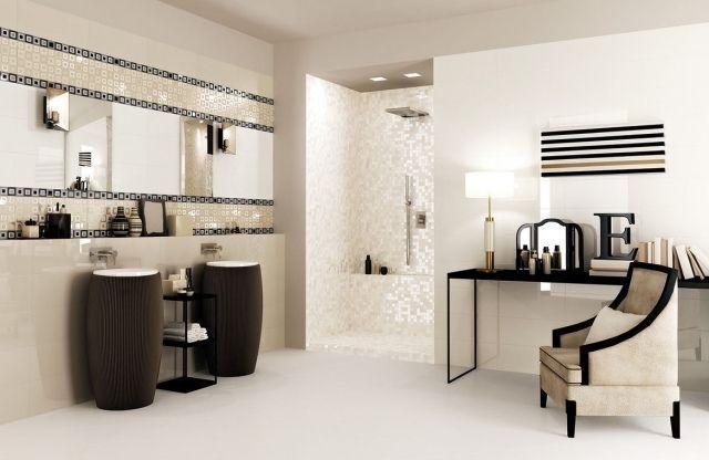carrelage-salle-bains-mosaïque-murale-blanche-brillante-élégante