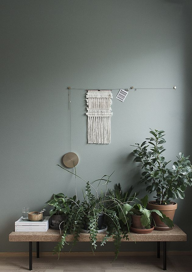 La Maison d\u0027Anna G One pic Monday GreenHOME Pinterest Murs - peindre un mur en bois