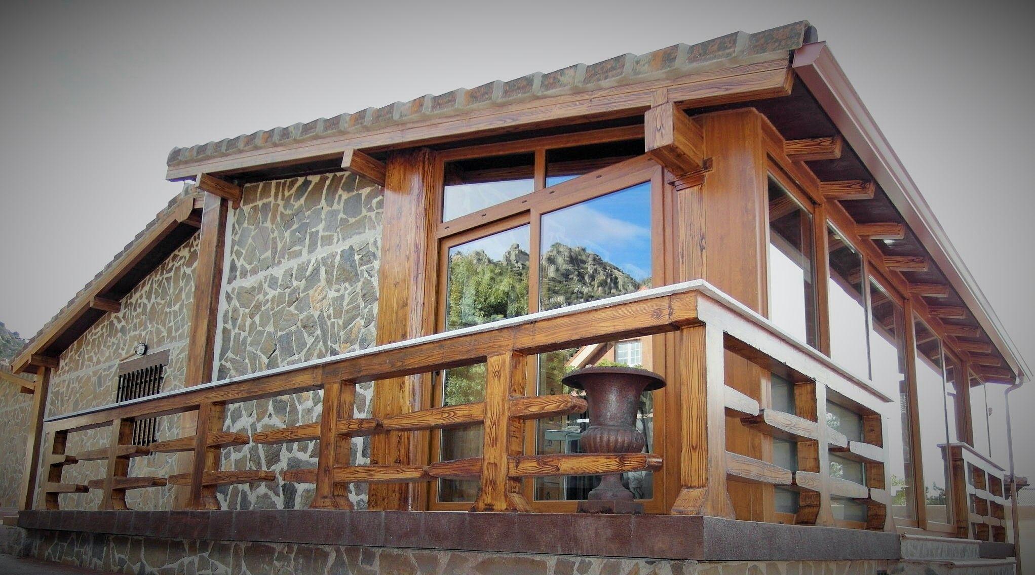 Preciosa construccion prefabricada de hormigon vivienda ubicada en la sierra de madrid casa de - Construccion de casa prefabricadas ...