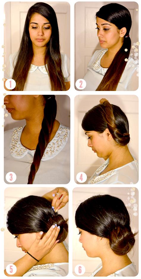 Comment faire coiffure chignon facile rapide ?   Coiffures chignon facile, Chignon facile et Chignon