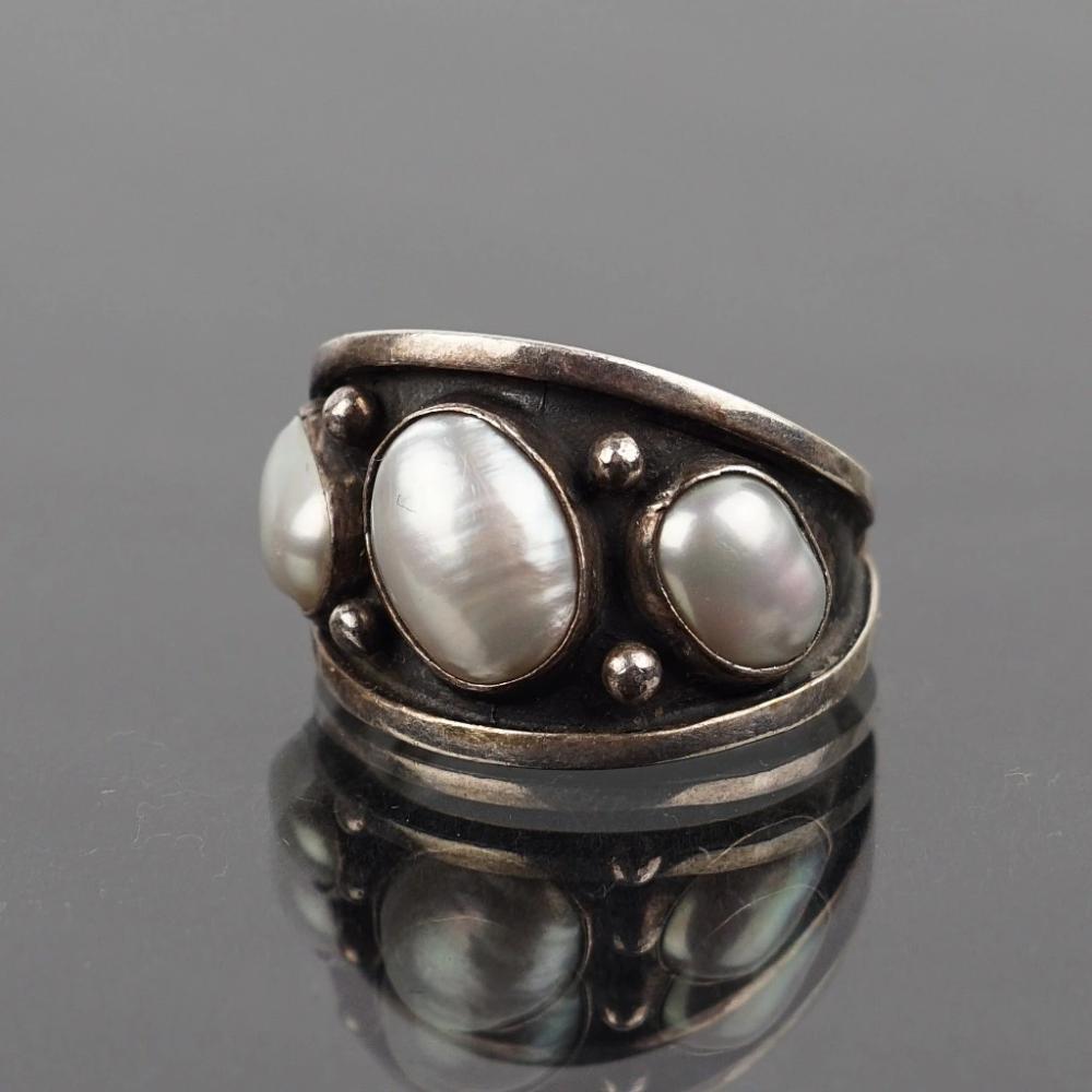 Pierscionek Perly Hodowlane Woytek Rygalo Cena 200 00 Zl Pruszkow Allegro Lokalnie Jewelry Silver Silver Rings