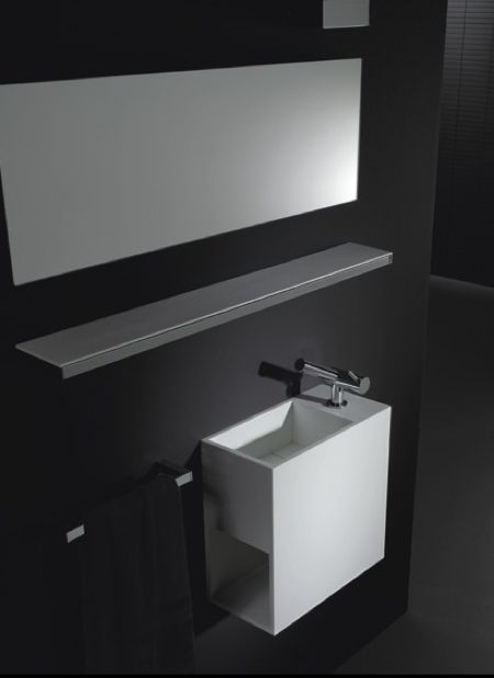 meubles de salle de bain en corian cosmic. Black Bedroom Furniture Sets. Home Design Ideas