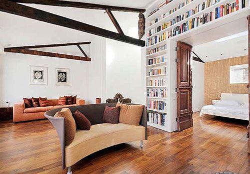 book storage! | House | Interior design elements, Home ...
