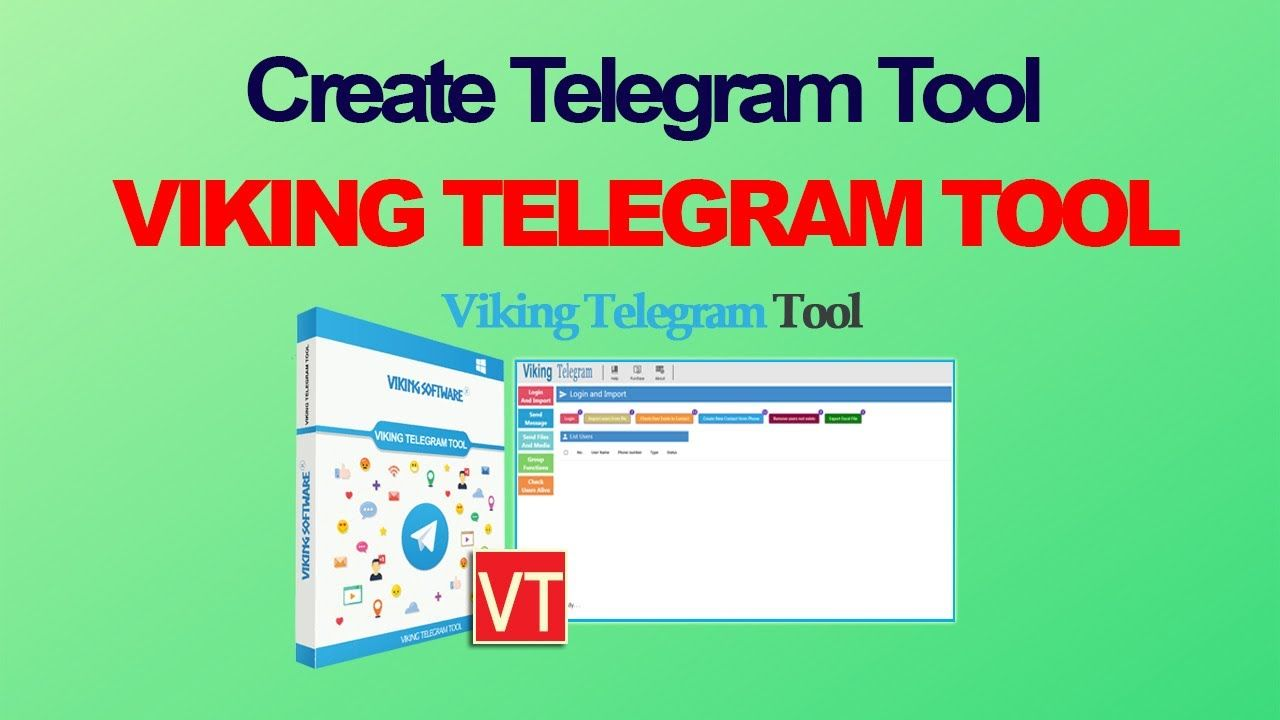 viking telegram tools - telegram marketing channels | viking