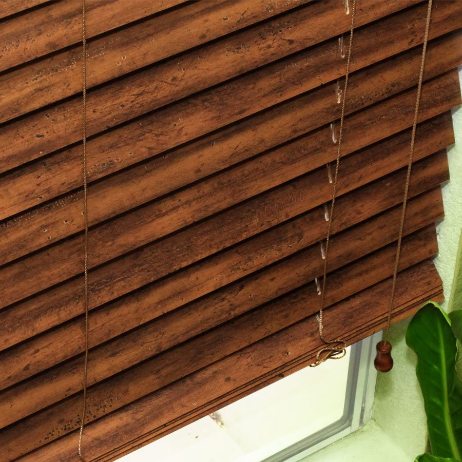2 Artisan American Distressed Wood Blinds From Selectblinds Com Wood Blinds Wooden Blinds Blinds