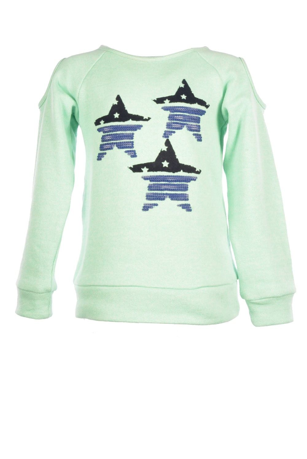 Dress like Flo Girls Holly sweater mint