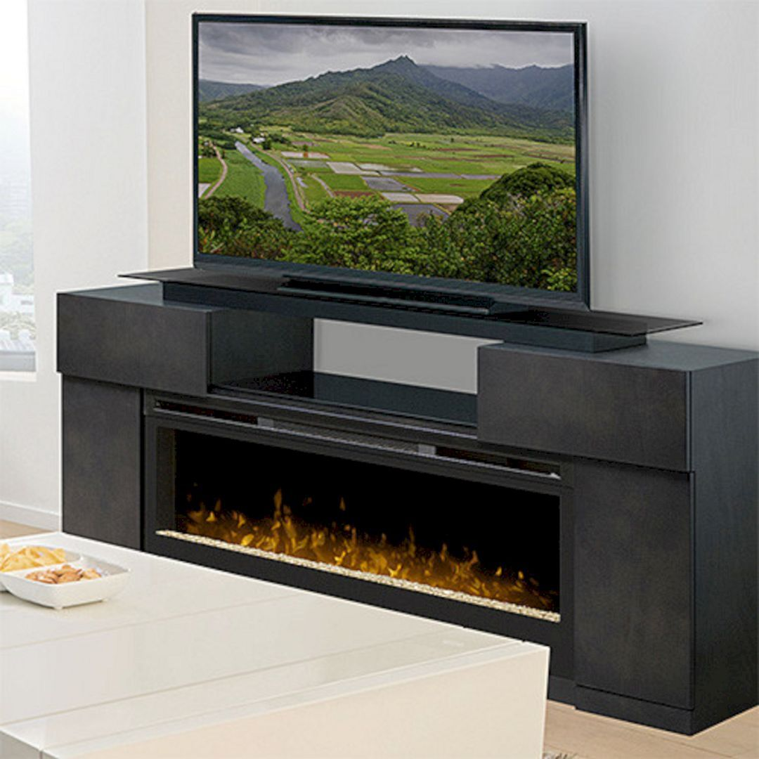 33 Best Electric Fireplace Tv Stand Design Ideas For Your Family