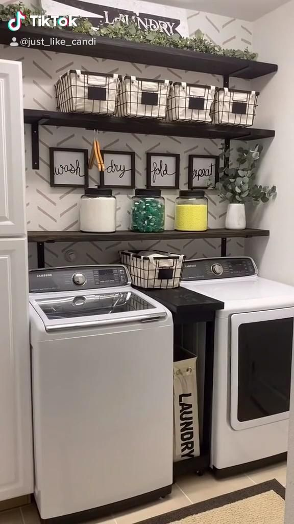 Laundry Room Must Haves Video Laundry Room Makeover Laundry Room Organization Laundry Room