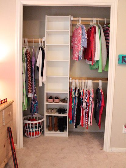 Beautiful How To Build Your Own Closet Built Ins Using A Billy Bookcase (IKEA Hack