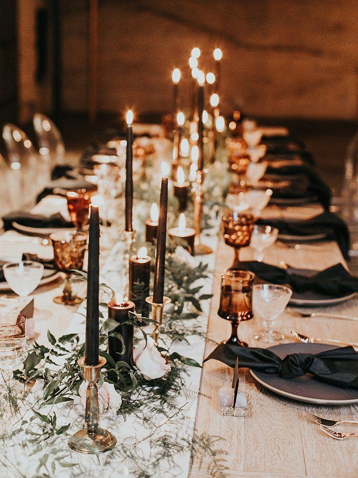 Intimate Modern Romantic Wedding Celebration: The Reception ⋆ Ruffled
