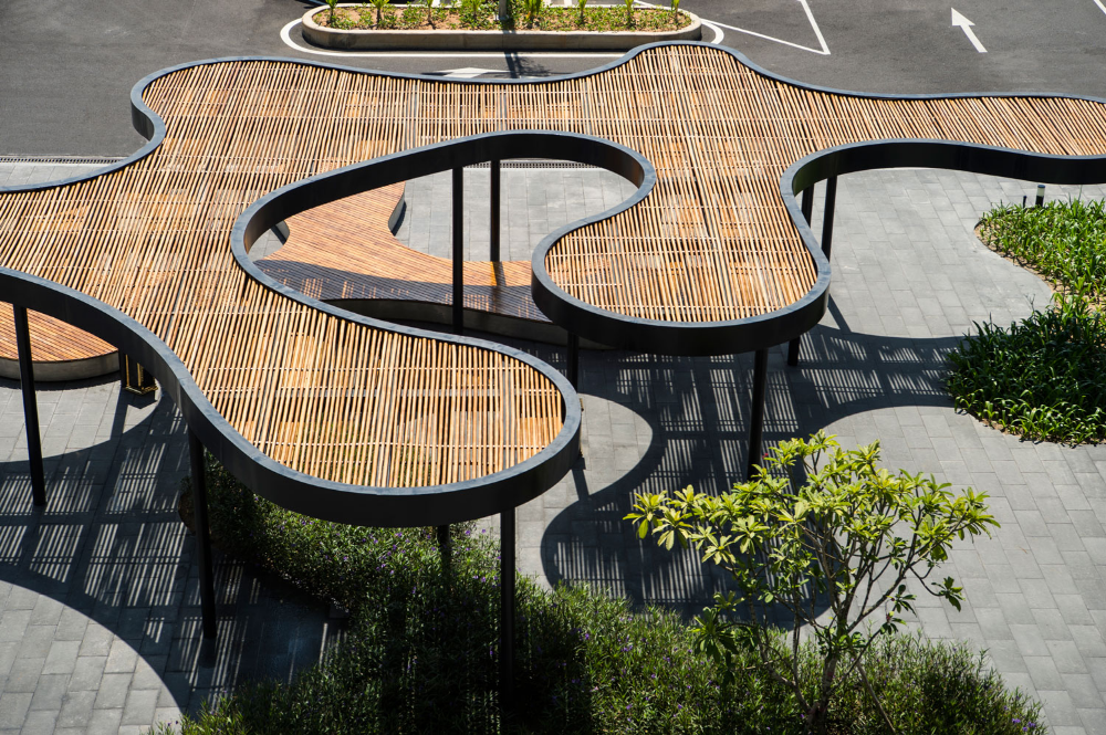 Cam Ranh International Airport by LJASIA  Landscape Architecture Platform  Landezine