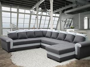 Big sofa eckcouch schnheit big ecksofa mit neu xxl couch for Ecksofa yvett