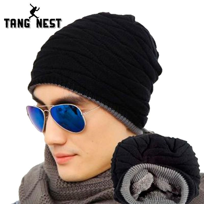 9649f27251e Men s Casual Warm Knitted Hat  me  style  men  gift  engagement ...