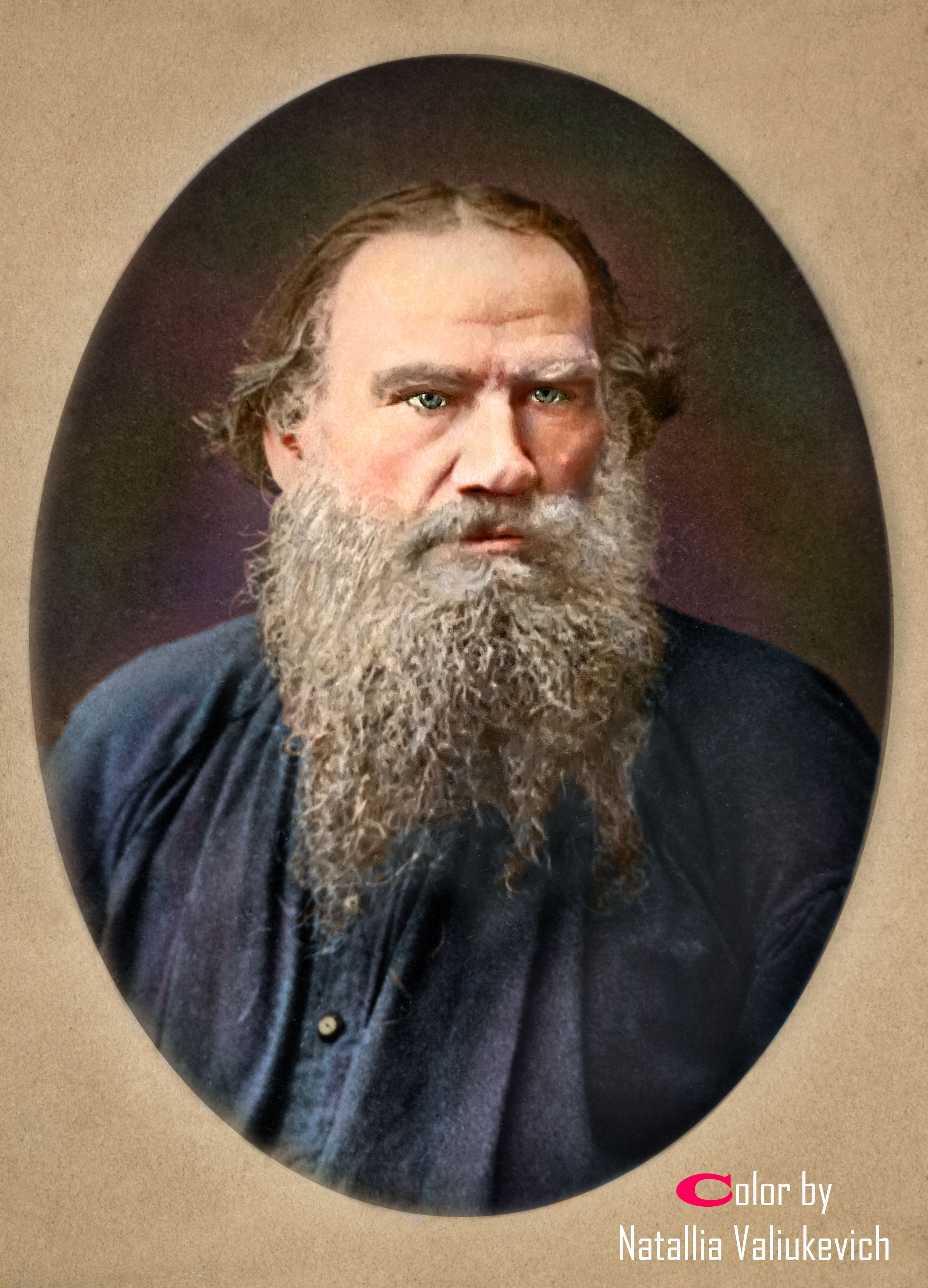 Roman Tolstoy Going Along 83