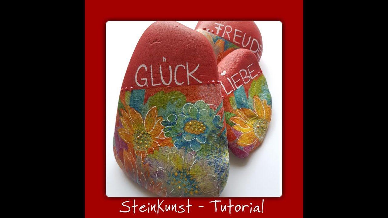 SteinKunst Tutorial Glückssteine - GoodVibes