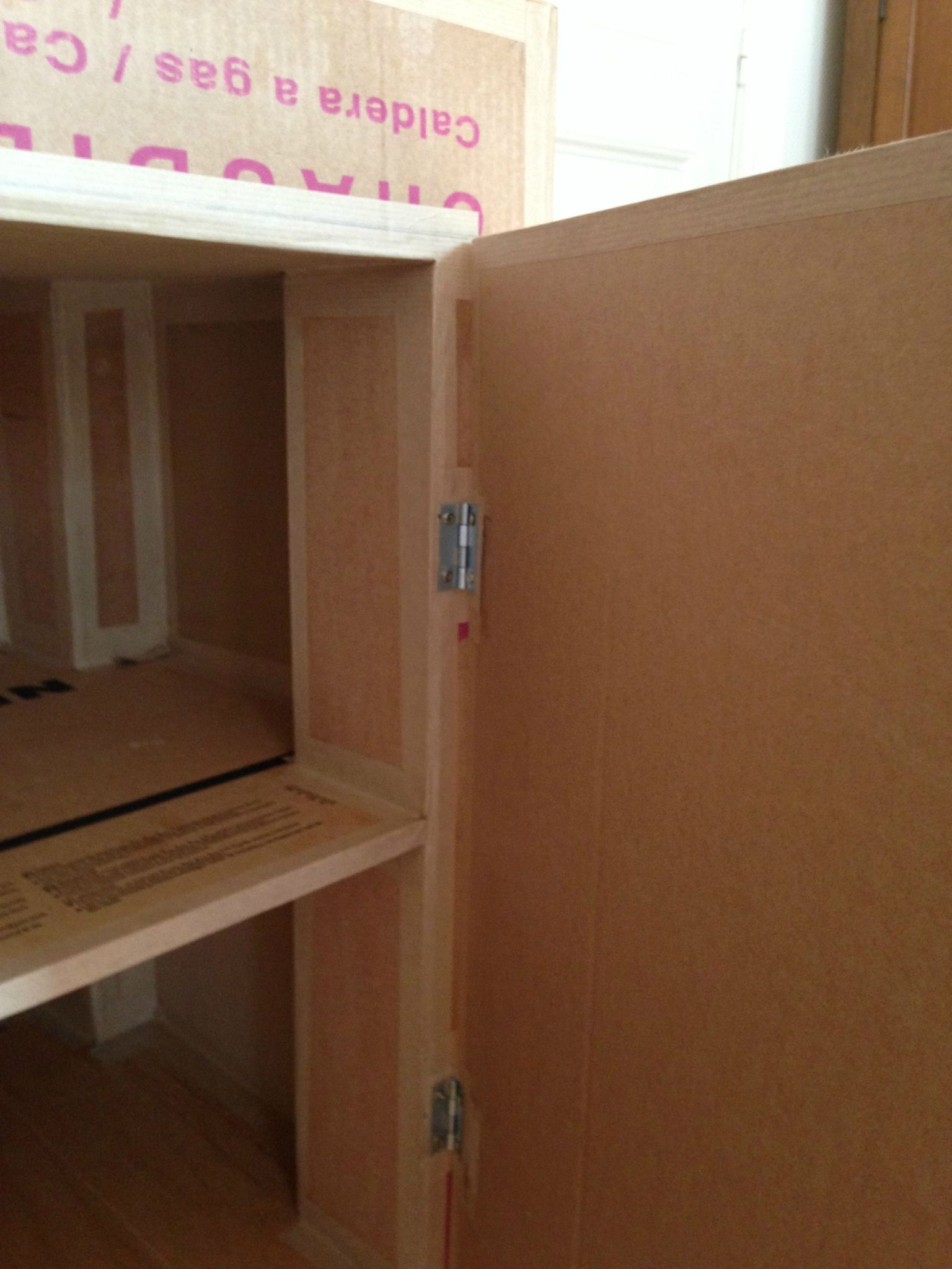 charnière porte sur meuble en carton | carton | pinterest | meuble