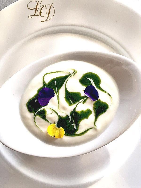 Yogurth infusionado con mentas y hierbas frescas. Exquisito postre y saludable @HealthouseLD www.healthouse-naturhouse.com
