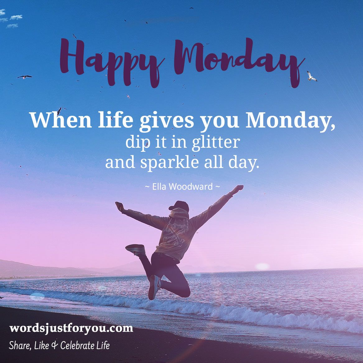 Happy Monday Quote Happy Monday Quotes Morning Quotes Funny Happy Monday Pictures