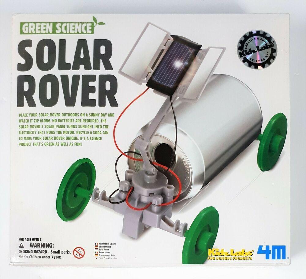 Green science solar rover kidz labs creative and fun