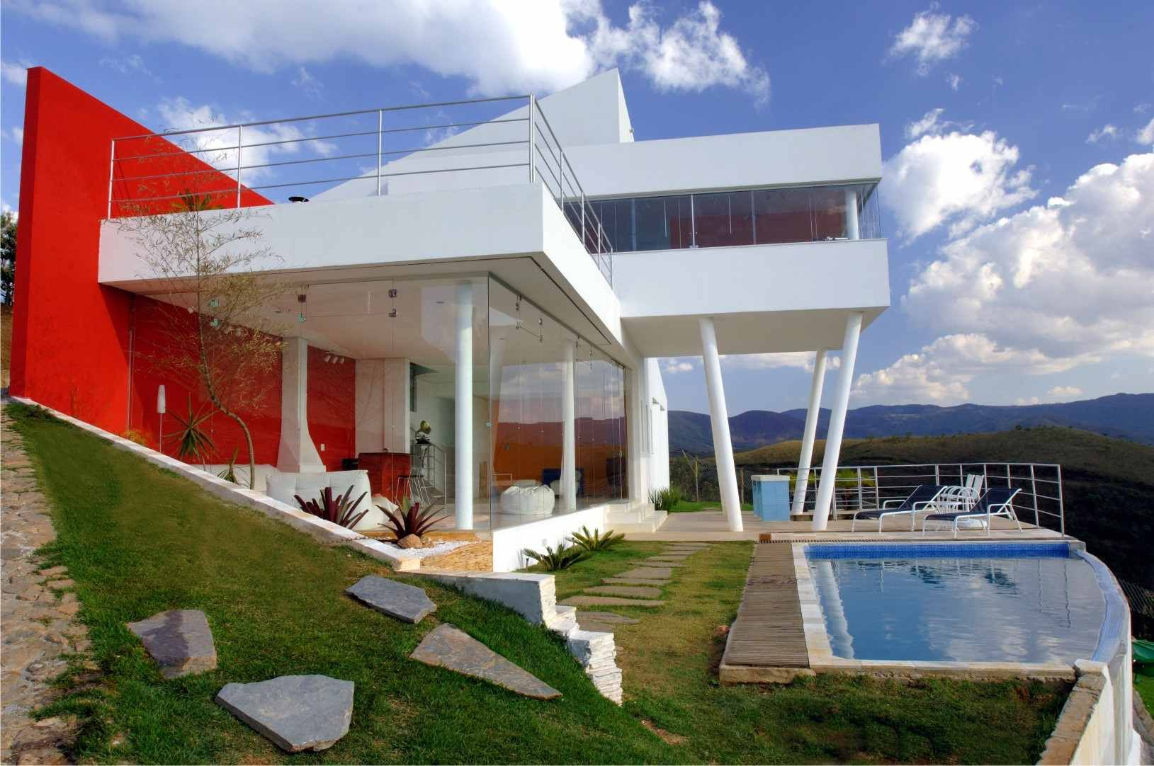 Superbe Architecure, Brazil, Homes, Trendir No Comments Contemporary Mountain Home  In Brazil By Architect Ulisses Morato   Extreme Contrasts!