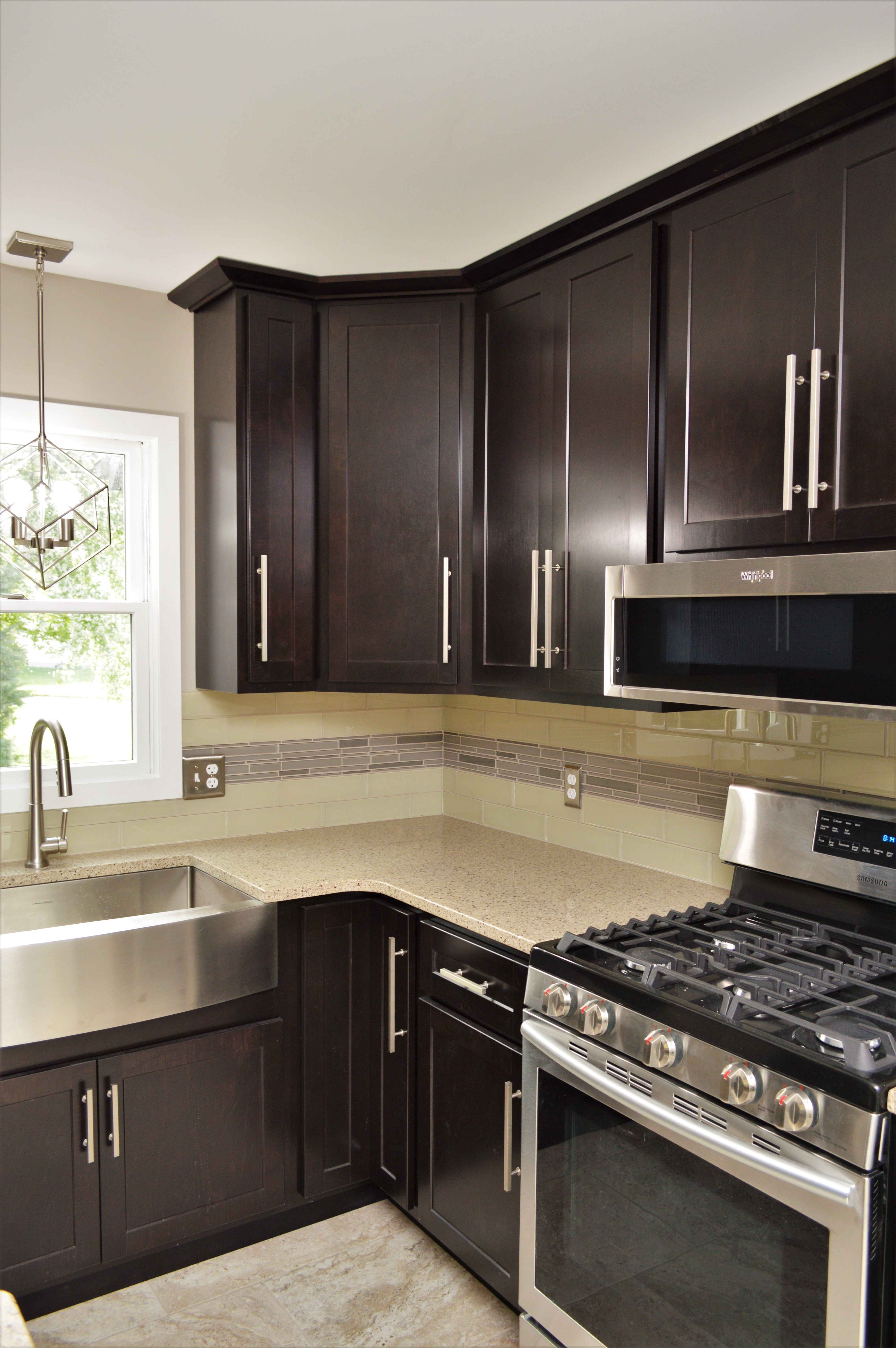 Baileytown Select Maple Onyx Finish Georgetown Door Style Cabinetry Painting Cabinets Cabinet