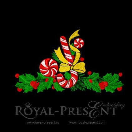 Machine Embroidery Design – Christmas candys