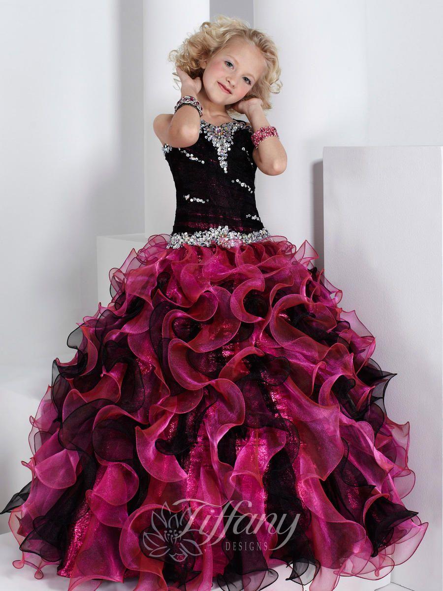 Girls pageant dresses by tiffany fbilsldfg pinterest