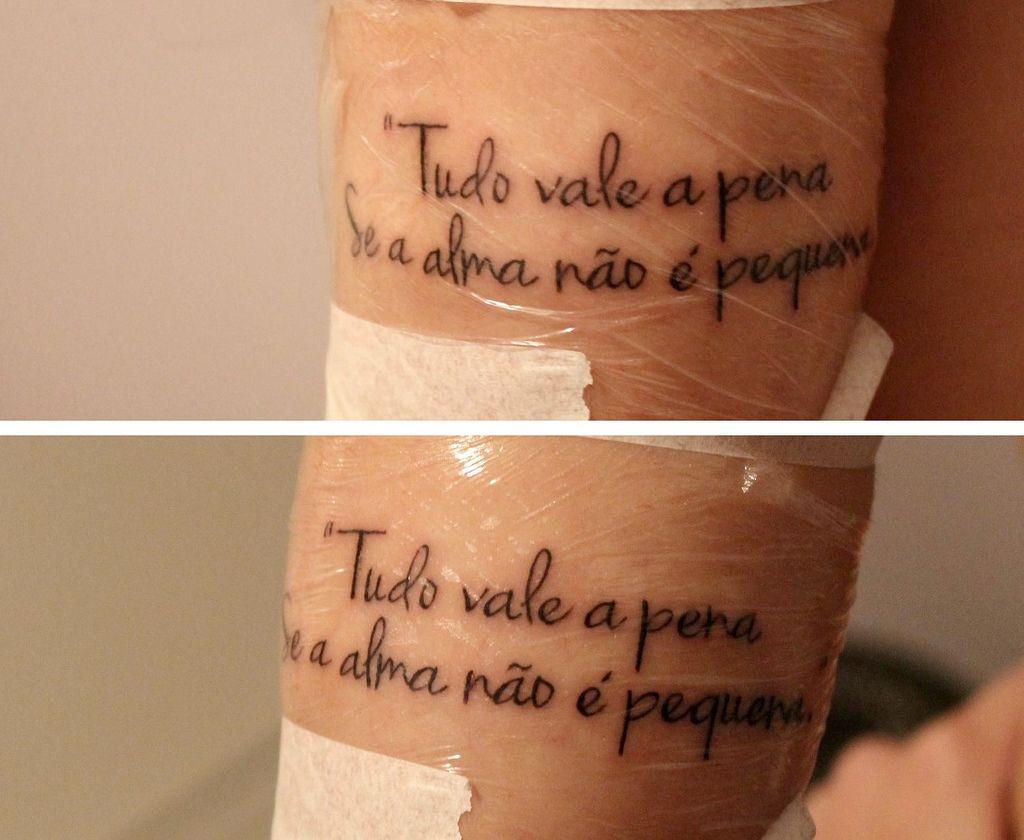 Tatuagem Com Frases Costela Pesquisa Google Tatuajes Tattoos