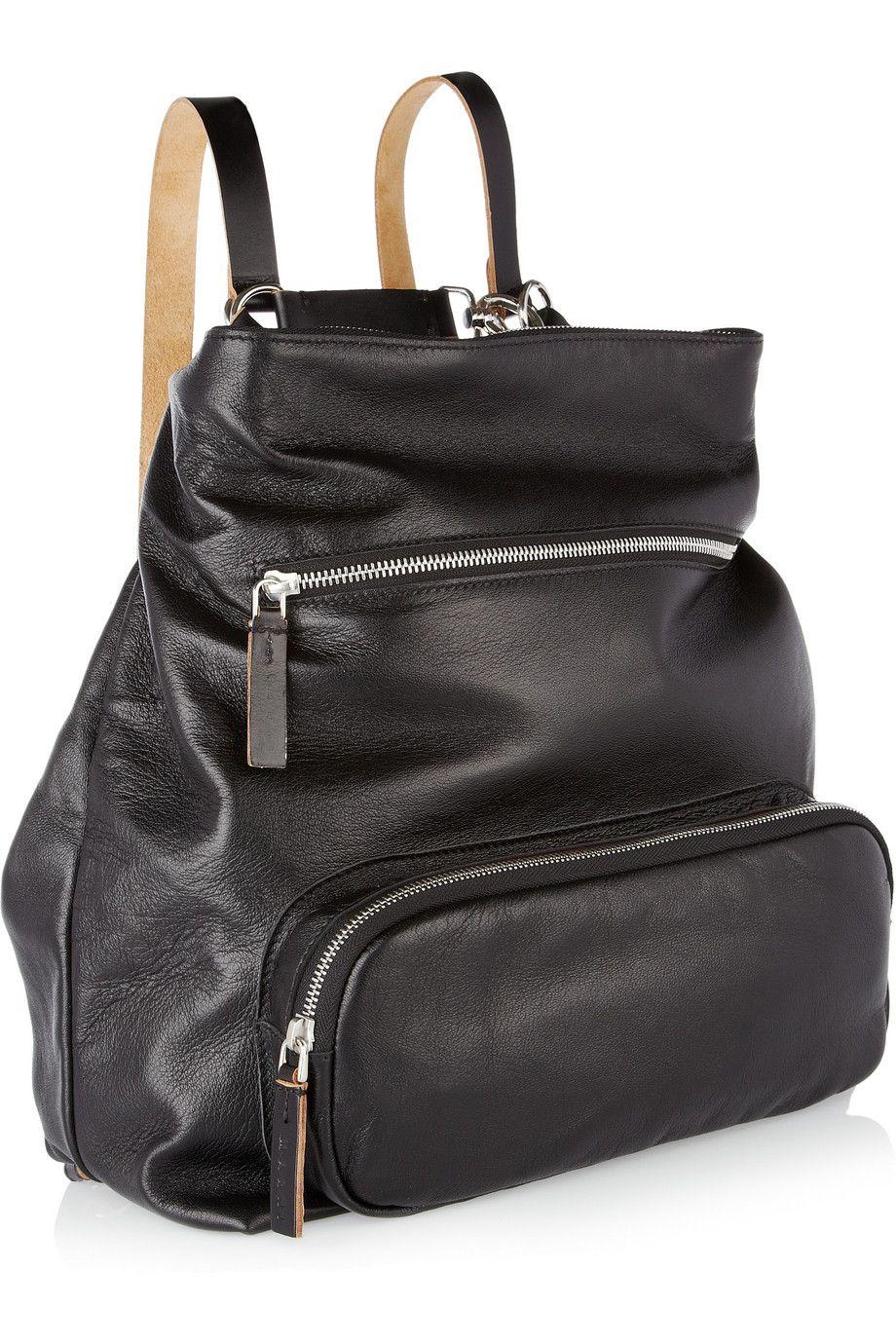 Marni - Convertible leather shoulder bag