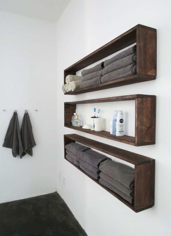 11 Incredible Bathroom Decorating Ideas Bathroom Wall Decor Shelves Bathroom Decor
