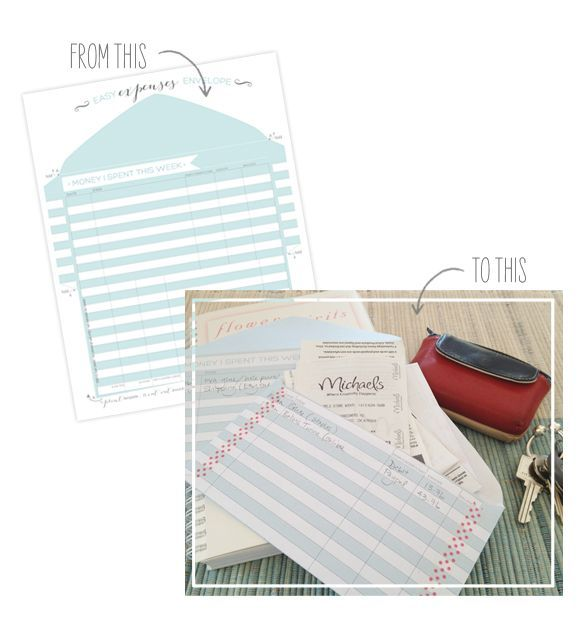 Your Expenses + Printable Expense Tracker  |  Oh My! Handmade Goodness