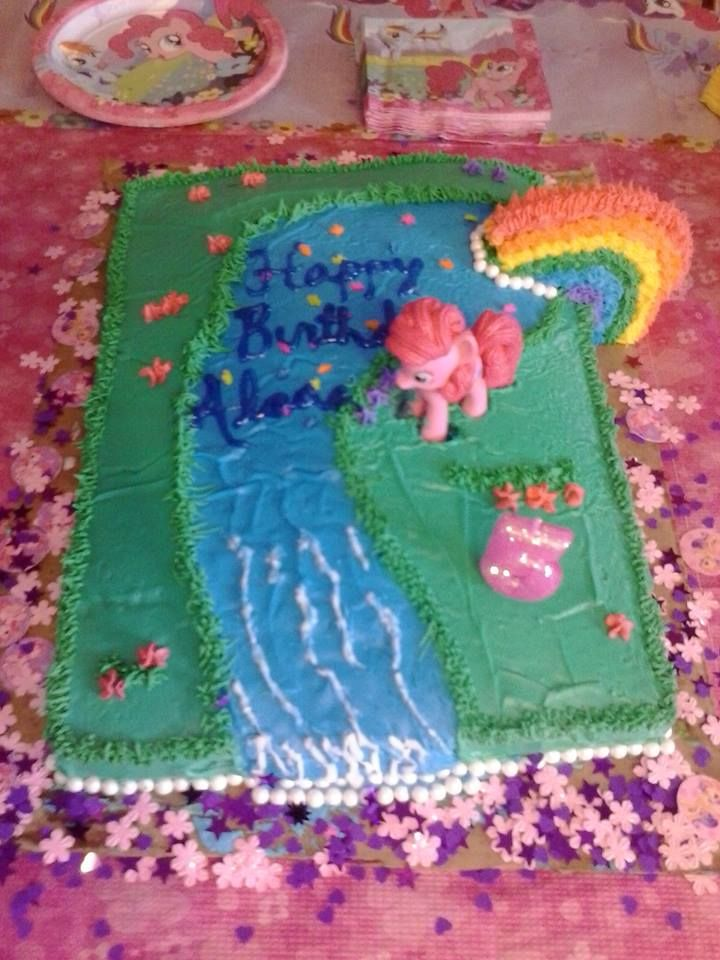 My Little Pony Fun Birthday Cake For Our Little 5 Year Old Girl