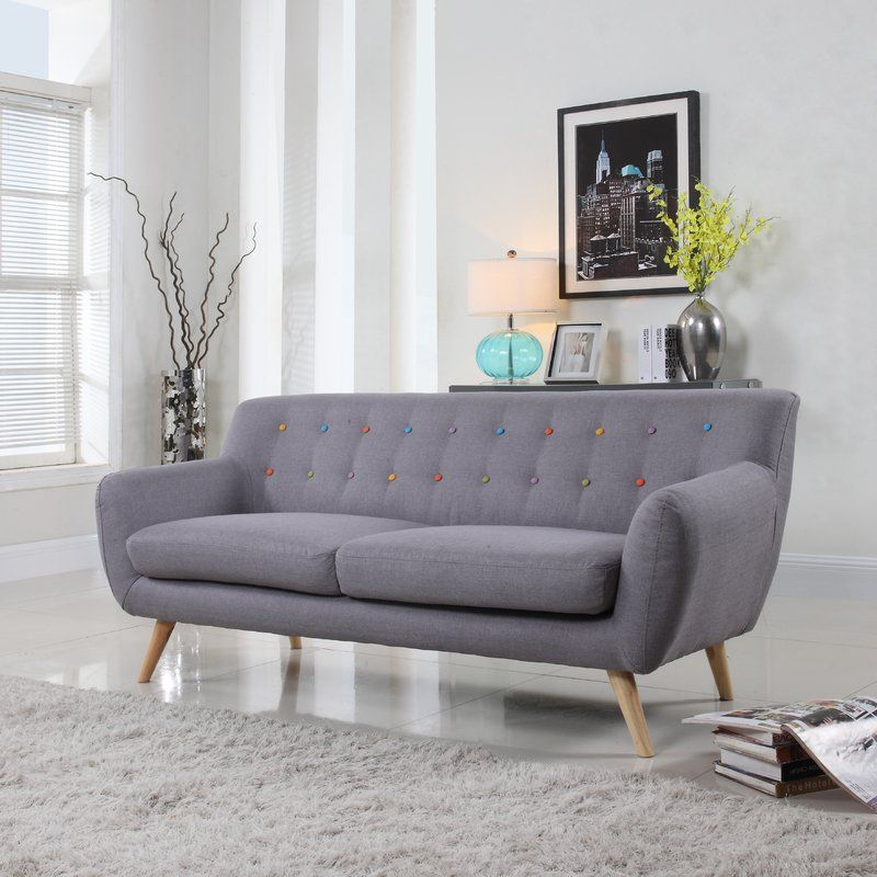 $444.99 (56% Off)   Milland Mid Century Sofa By Langley Street