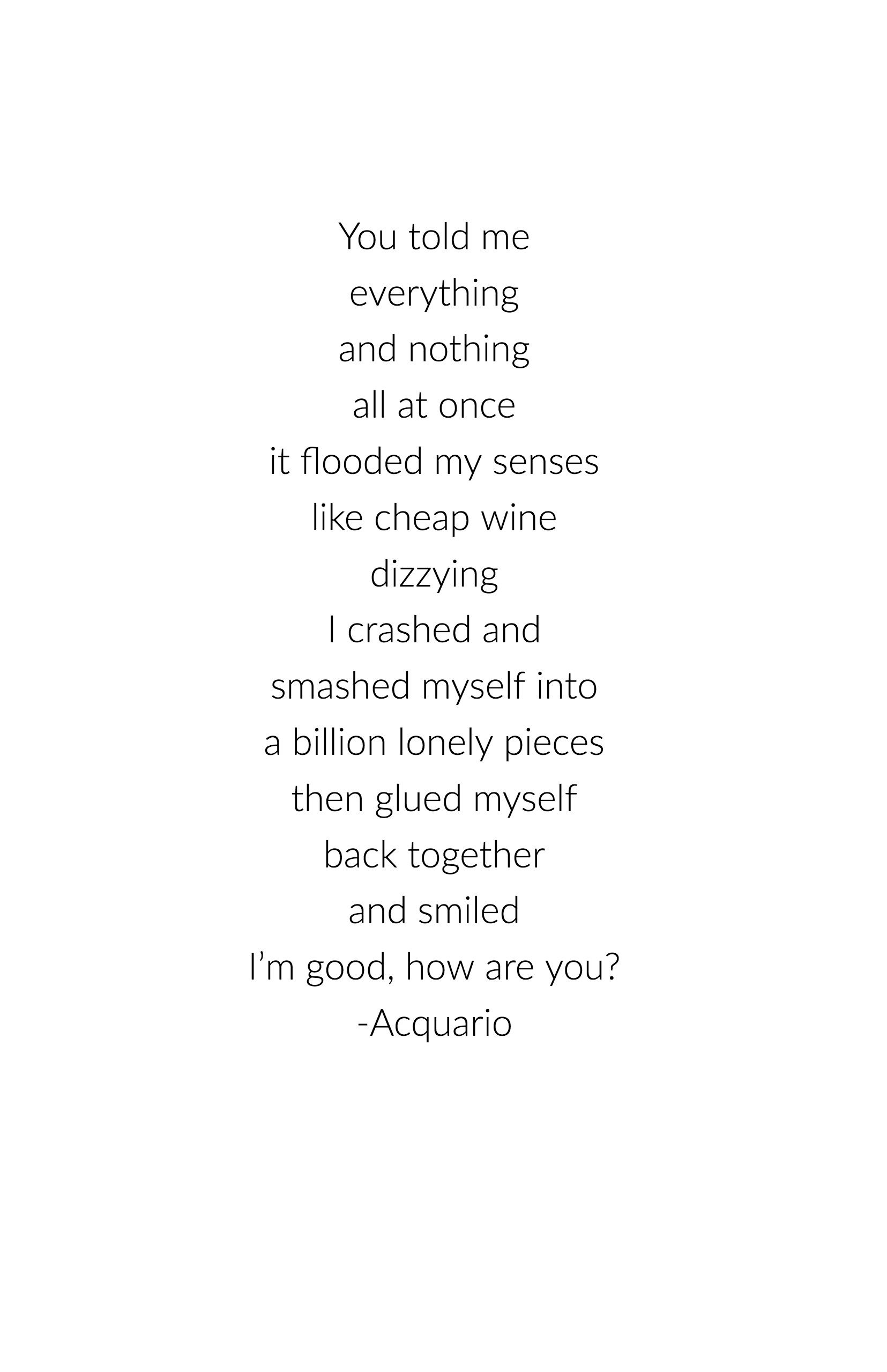 Pin On Acquario Poems
