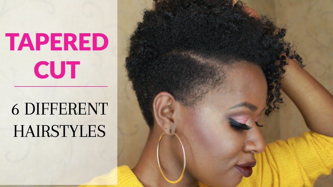 Boy haircuts on black girls how to style a tapered cut on natural hair six hairstyles  beauty