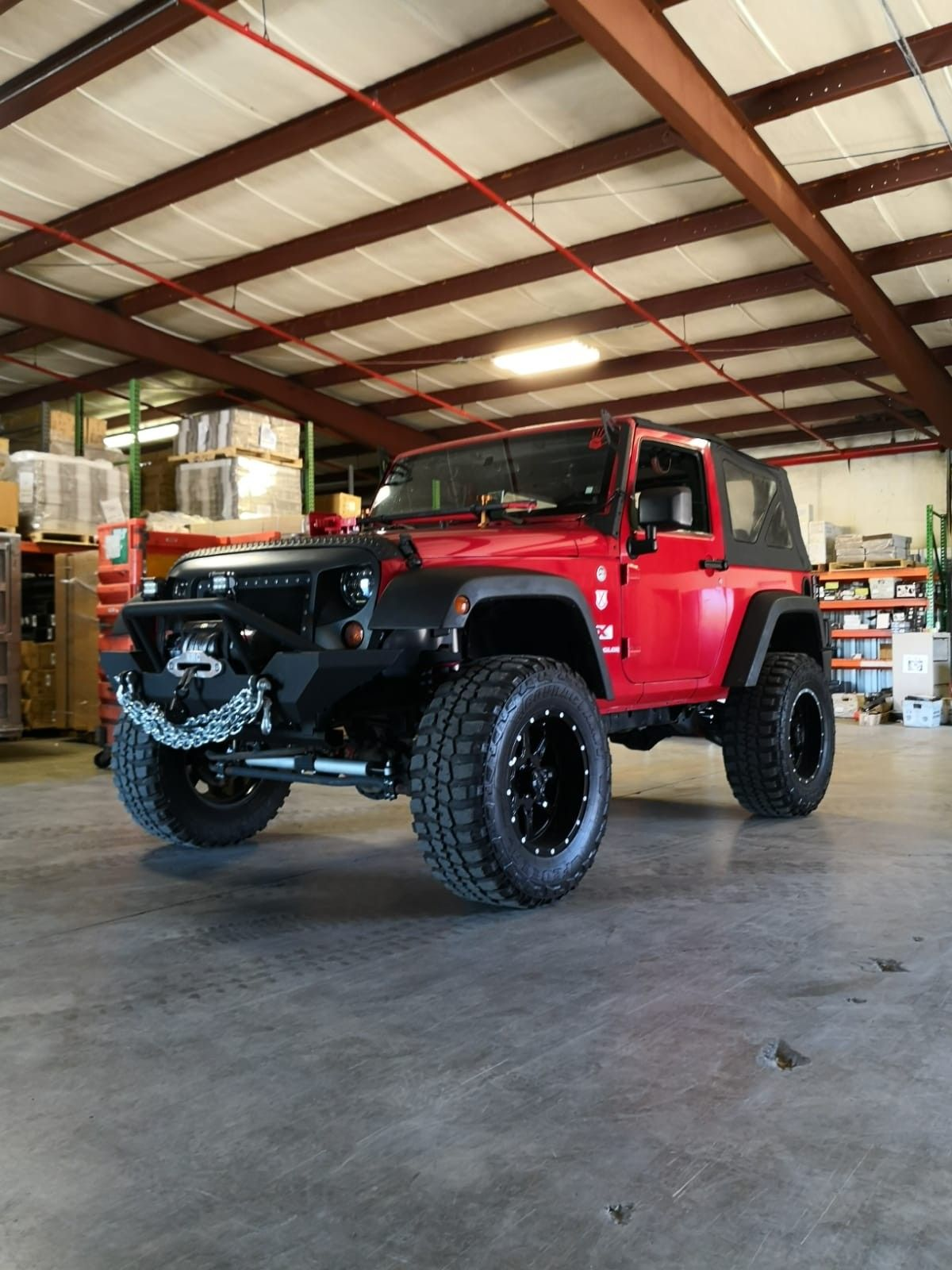 Red Jeep Wrangler Jeepfederation Jeeplife Redjeep Red Jeep