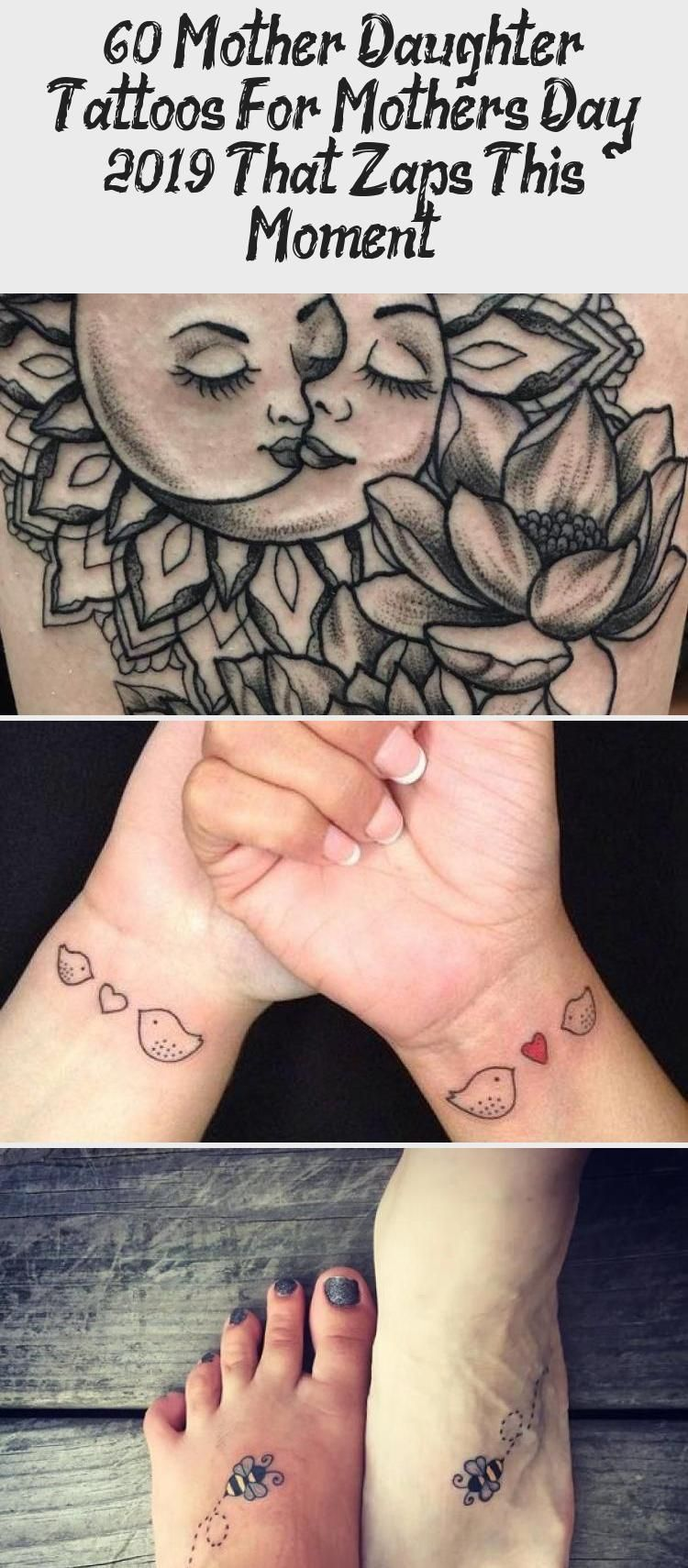 Photo of 60 Mother Daughter Tattoos for Mothers Day 2019 that zaps this moment – Hike n D…