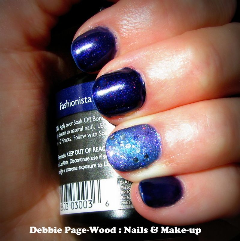 Artistic Colour Gloss in Fashionista with #Galaxy nail art on ...