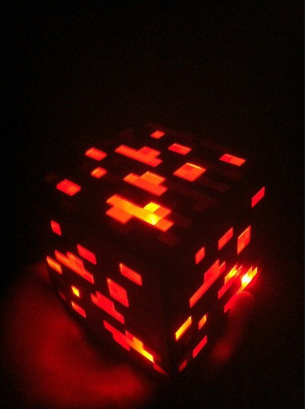 36 Awesome Night Lights That Ll Ignite The Geek In You Minecraft Light Minecraft Toys Minecraft