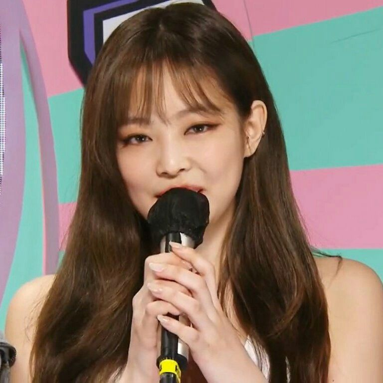 201010 Blackpink Music Core Kim Jennie Cantores Rapper