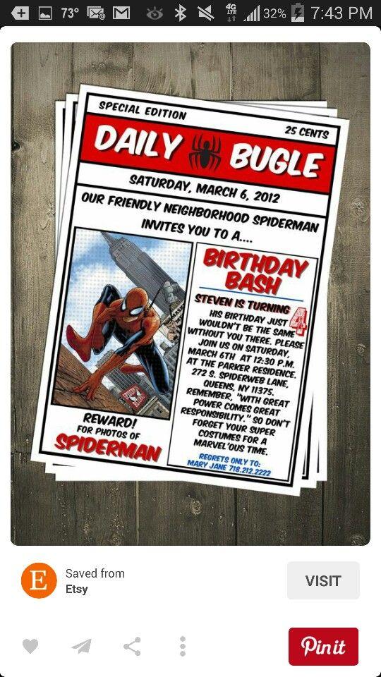 Daily Bugle Invitation