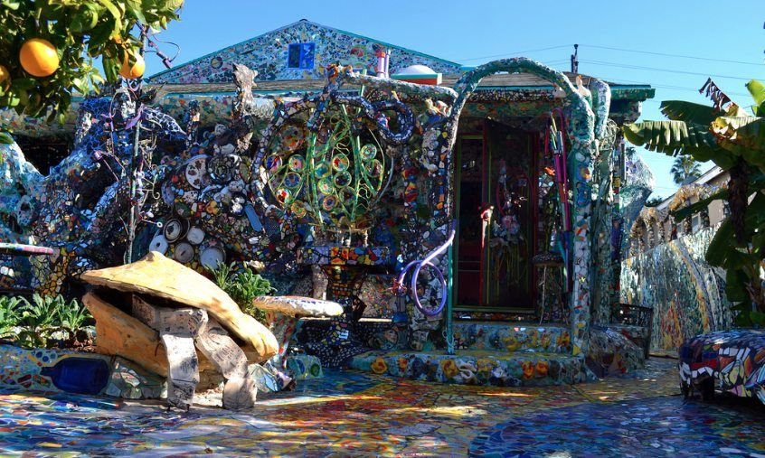 Mosaic Tile House Exterior 15 Funky Public Art Works In Los Angeles Everyone Should Explore