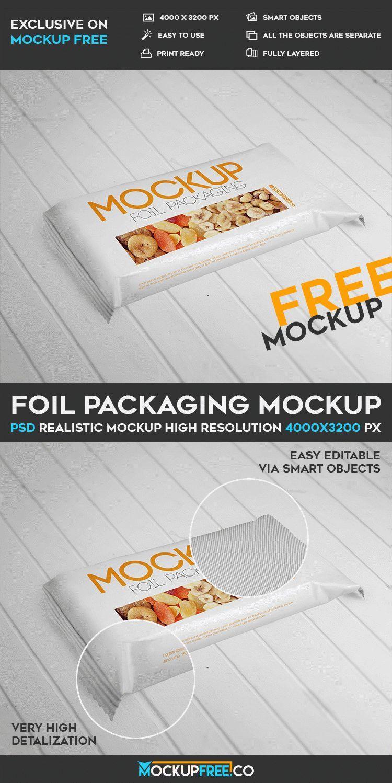 Download Foil Packaging Free Psd Mockup Download Mockup Free Psd Foil Packaging Mockup Psd