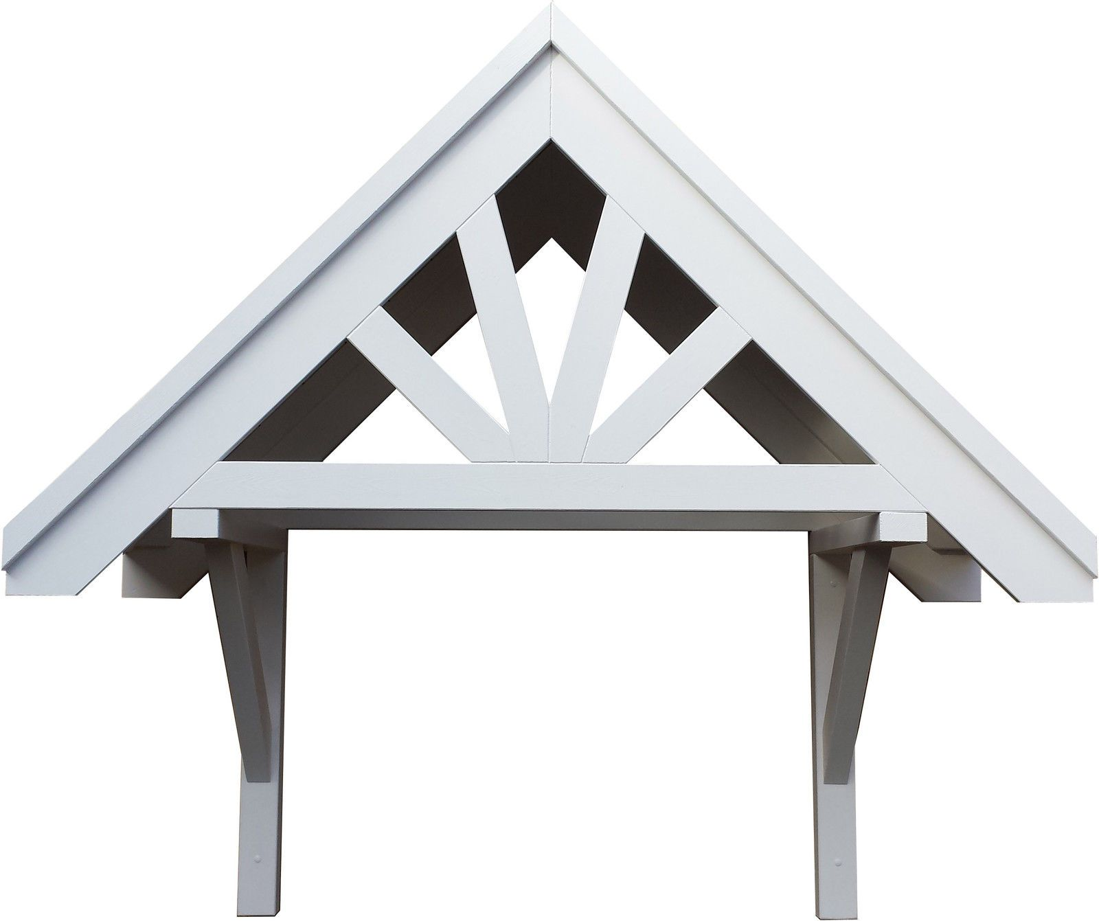 Front door Wooden Canopy Roof Porch - Bespoke Timber Awning - Made to measure | eBay  sc 1 st  Pinterest & Front door Wooden Canopy Roof Porch - Bespoke Timber Awning - Made ...