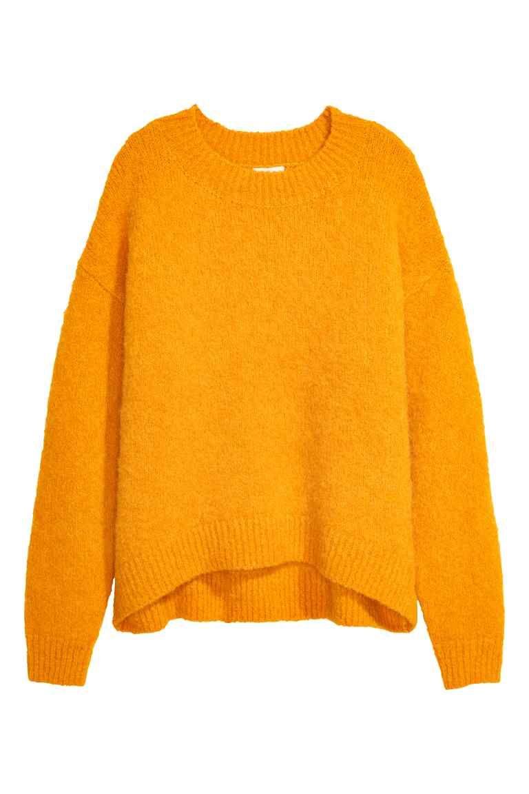 Jersey en mezcla de lana - Amarillo 49 46d441faa9da