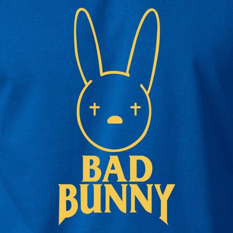 Bad Bunny Logo T Shirt Reggaeton Latin Hip Hop Puerto Rico Rican Rap Salsa Tee Bunny Wallpaper Reggaeton Bunny Logo