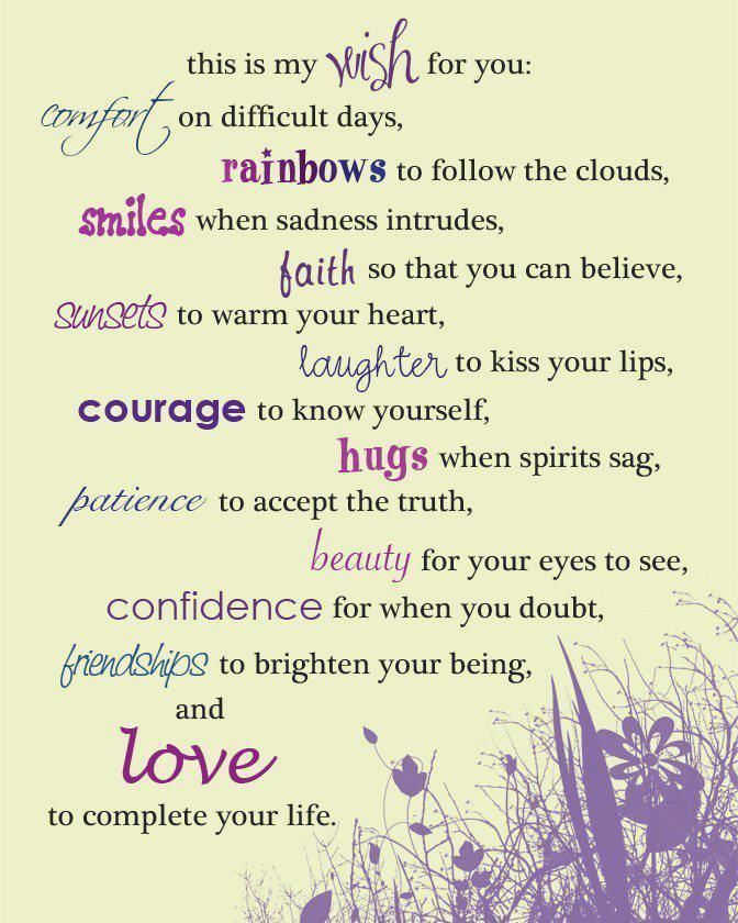 11 The Social Butterfly Wish Quotes Wishes For Friends My Wish For You