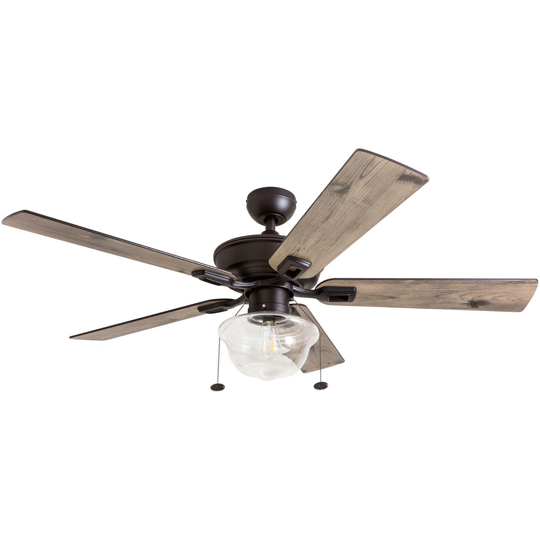 Prominence Home 52 Abner Indoor Outdoor Bronze Ceiling Fan Walmart Com Outdoor Ceiling Fans Bronze Ceiling Fan Ceiling Fan