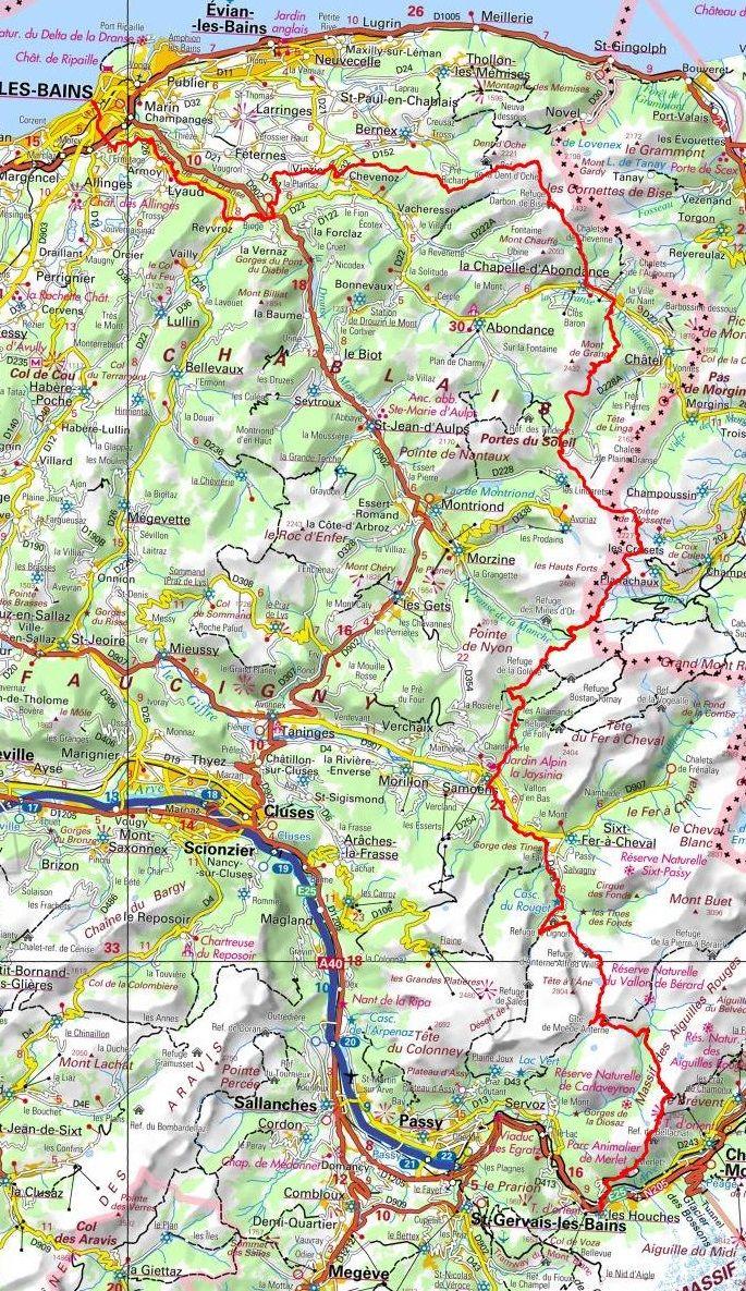 GR5 Randonne de ThononlesBains Les Houches HautSavoie